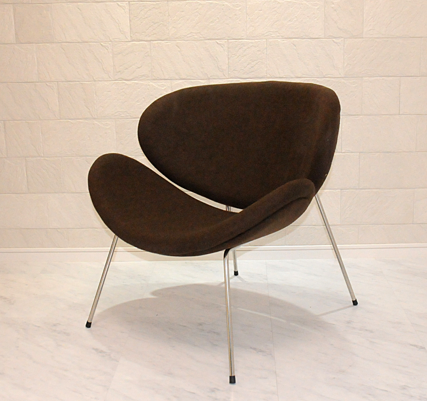 Orange Slice Chair And Pierre Poulin Design / Color Brown / Designer  Furniture Solo For Solo Seat Sofa Chair Orange Slice Chair Pierre Paulin  Chairs Outlet