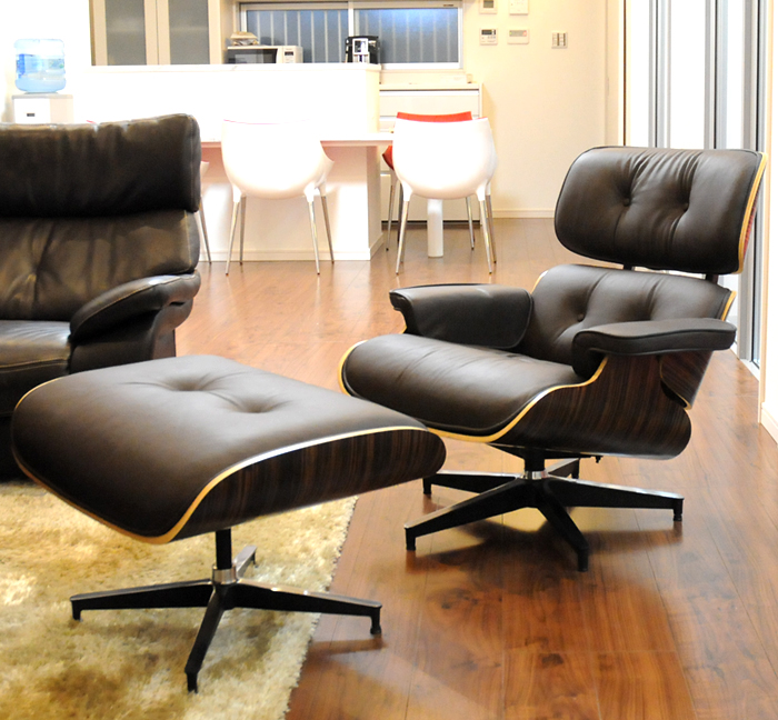 Phenomenal Eames Lounge Chair And Ottoman Set Color Dark Brown X Ebony Finest Leather Sitting Comfortable Is Best Charles Ray Eames Personal Chair Per Pabps2019 Chair Design Images Pabps2019Com