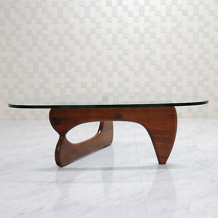 イサムノグチ/コーヒーテーブル/ガラス19mm×ローズウッド/高品質デザイナーズテーブル 新品 coffee table Isamu Noguchi ダイニングテーブル センターテーブル ローテーブル 一人用テーブル ちゃぶ台 座卓 インテリア