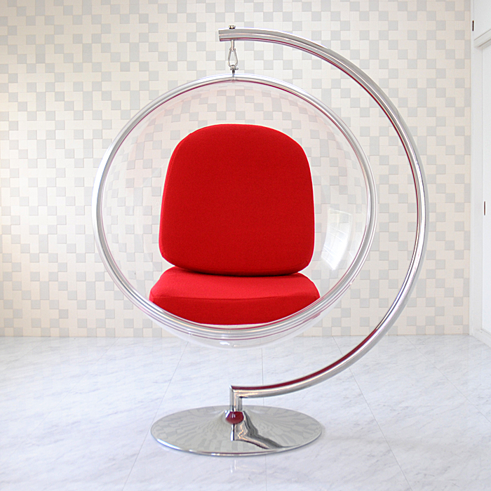 バブルチェア エーロ・アールニオ レッド Eero Aarnio BUBLE CHAIR ソファ ソファー sofa デザイナーズ家具