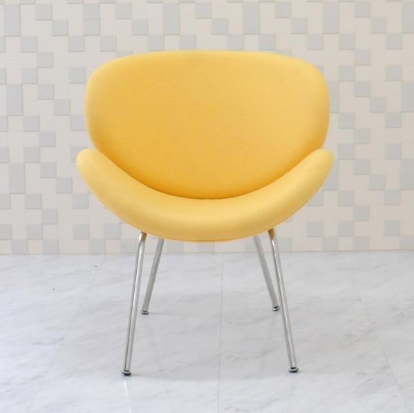 オレンジスライスチェア/ピエールポーリン デザイン/色 イエロー/デザイナーズ家具 一人用 一人掛け ソファ イス 椅子 Orange Slice Chair Pierre Paulin アウトレット