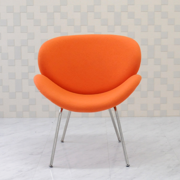 Orange Slice Chair And Pierre Poulin Design Color Designer Furniture Alone For One Seat Sofa Paulin Outlet