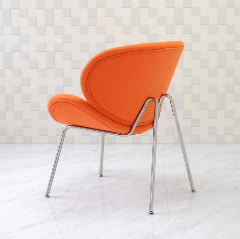 Orange Slice Chair And Pierre Poulin Design / Color Orange / Designer  Furniture Alone For One Seat Sofa Chair Chair Orange Slice Chair Pierre  Paulin Outlet