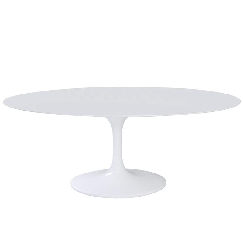 チューリップテーブル 天板幅199cm 大型テーブル ホワイト white/エーロ・サーリネン tuliptable Eero Saarinen ダイニングテーブル デザイナーズ リプロダクト