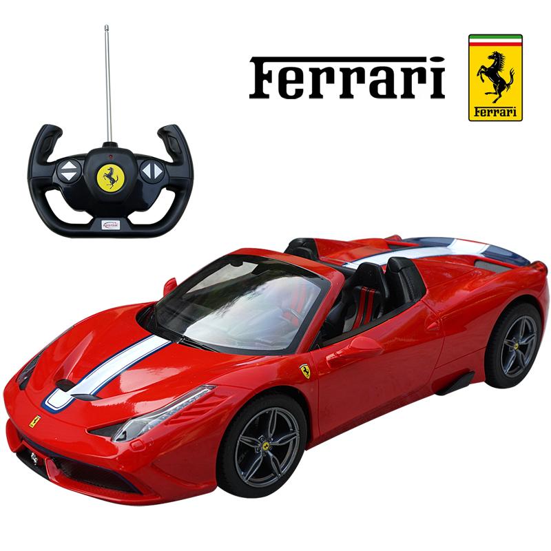 458スペチアーレA 1 14 スケール ミニカープレセント ラジコン ミニカー RC レッド 送料無料 激安 お買い得 完売 キ゛フト フェラーリ正規ライセンス品