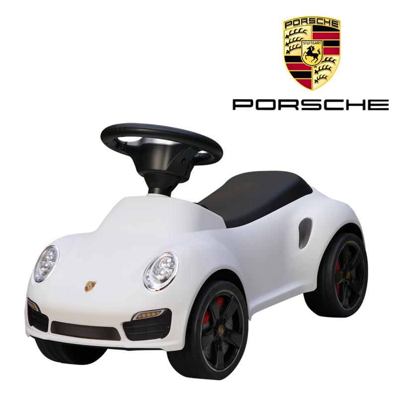 ポルシェ正規ライセンス 911ターボS 足けり乗用玩具 足蹴り式 子供用 Porsche 911 turbo s