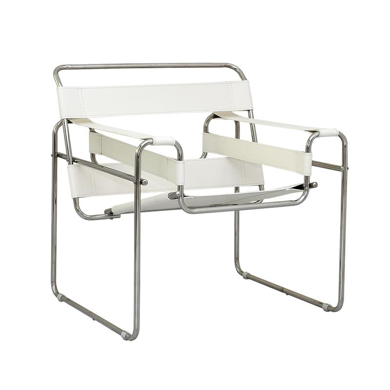 ワシリーチェア ホワイト Wassily Chair マルセル・ブロイヤー イス いす 椅子