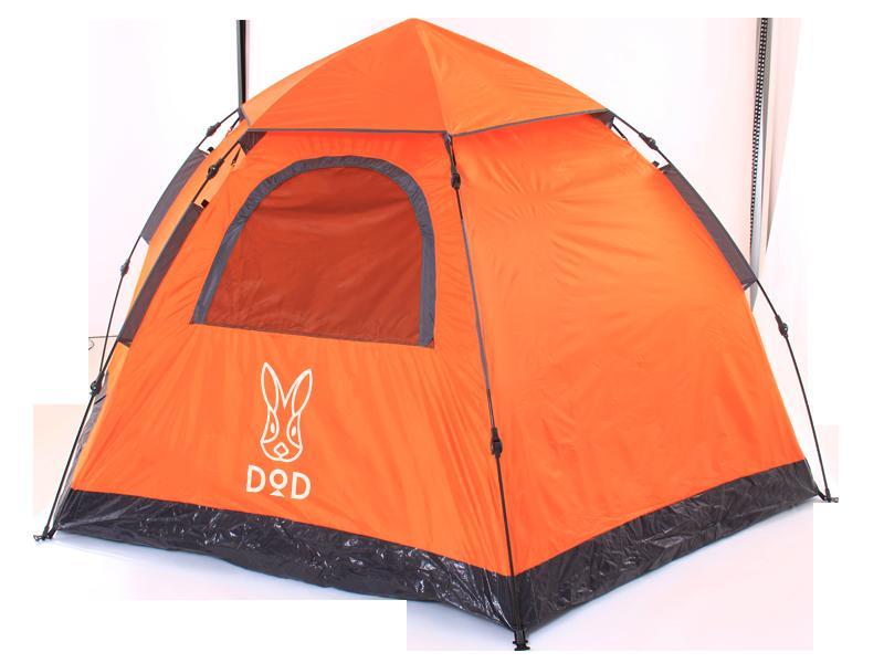 DOPPELGANGER OUTDOOR ワンタッチテント T5-31/5人用 5名用 五人用/15秒で簡単設営 災害時 緊急時にも/ドッペルギャンガー キャンプ用品 アウトドア用品 登山用品