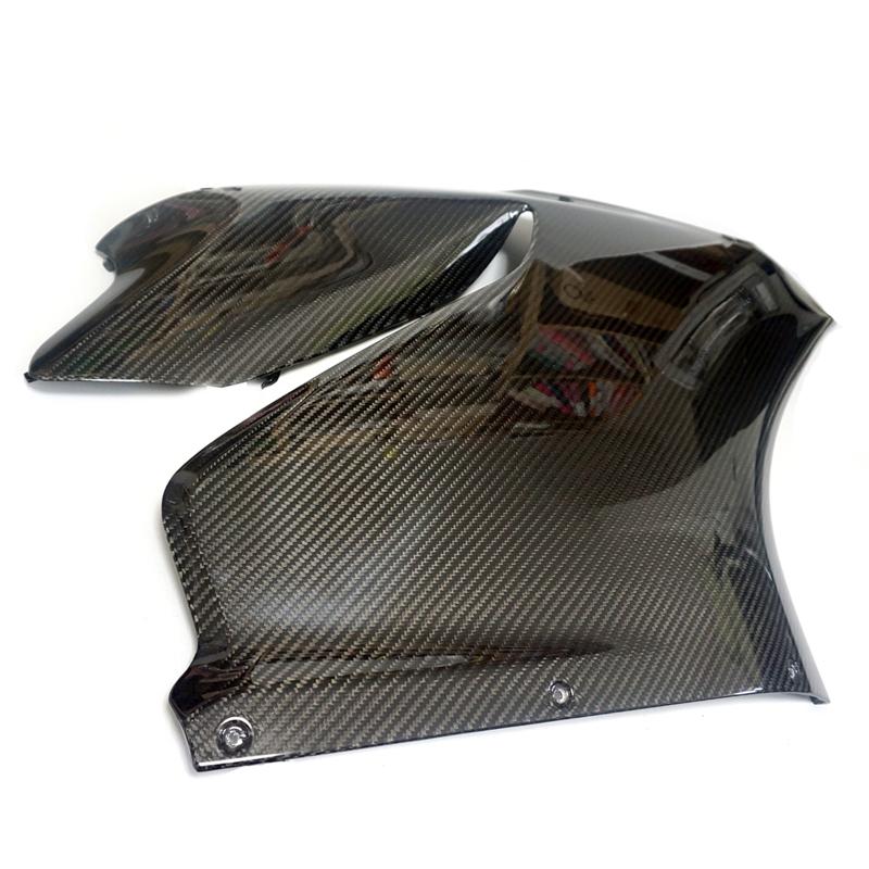 ドゥカティ 1199 パニガーレ用 カーボン製 サイドカウル サイドパネル 左右2枚セット リアルカーボン Carbon panigale