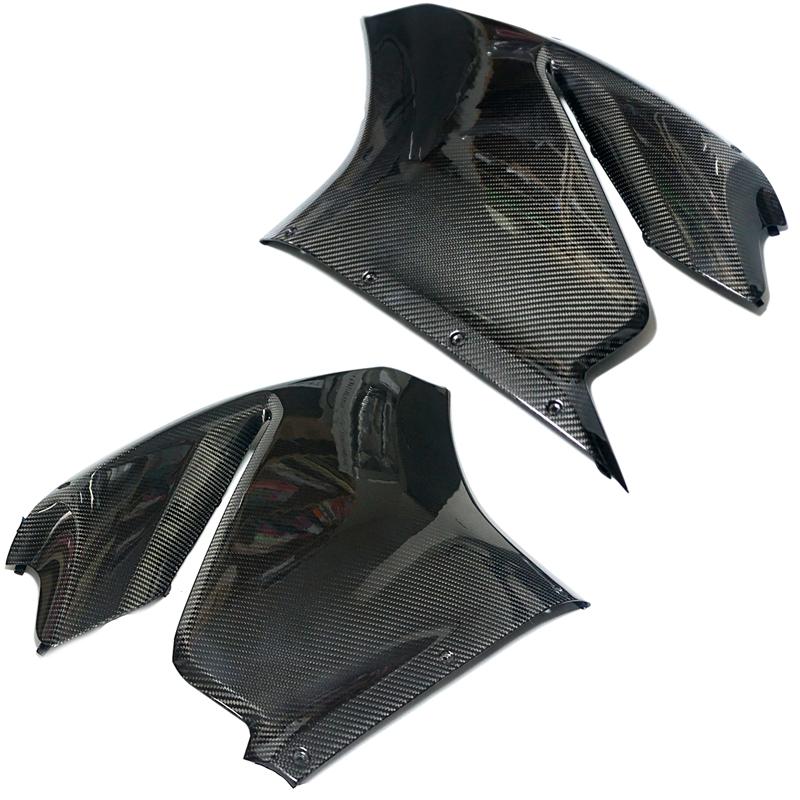 ドゥカティ 1299 パニガーレ用 カーボン製 サイドカウル サイドパネル 左右2枚セット リアルカーボン Carbon panigale