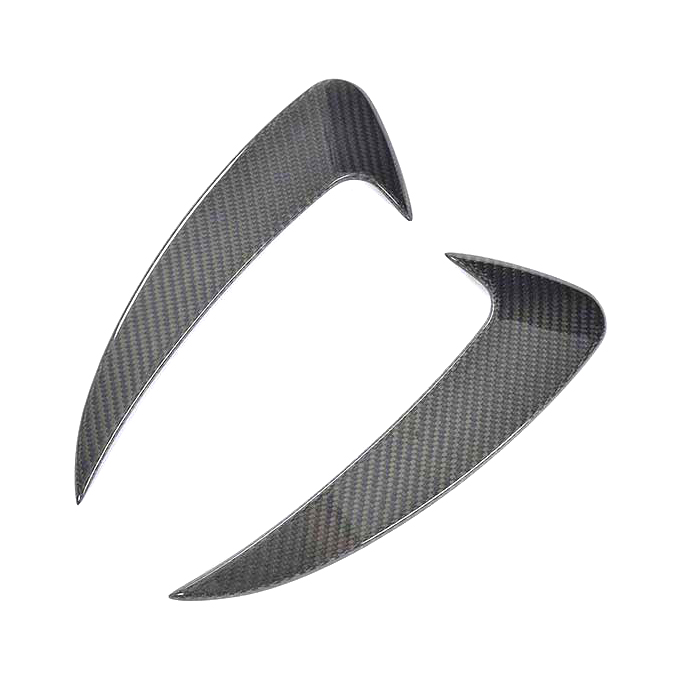 メルセデスベンツ C238 Eクラスクーペ E200 E300 E500 E43 2017年~2018年 カーボン製 リアバンパーサイドダクトトリム 左右セット エアロパーツ 外装パーツ AMG CARBON 炭素繊維 SPORT