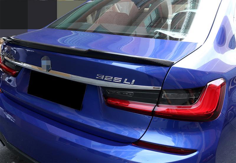 売り出し リアルカーボン ツヤあり 商品 BMW用 新型3シリーズ リアスポイラー G20 トランクスポイラー CARBON