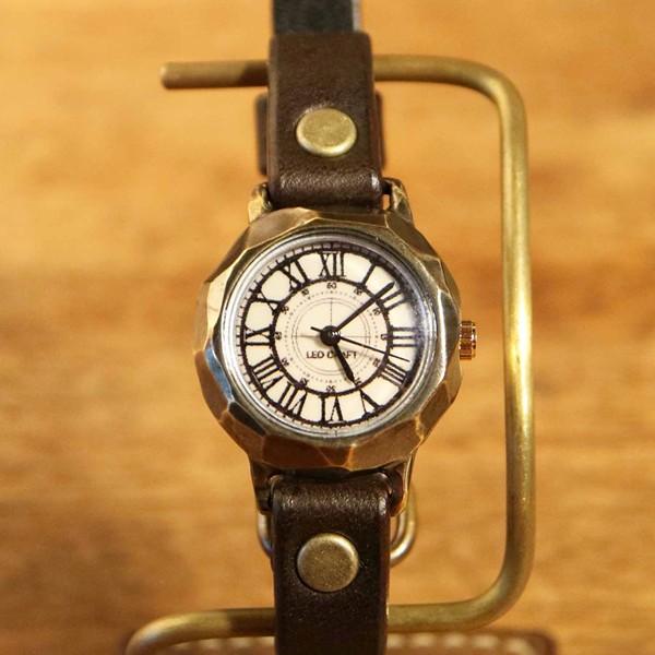 時計作家のこだわり手作り腕時計 LEO CRAFT レオクラフト レディース BS-DW124/送料無料