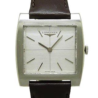ロンジン メンズ腕時計 LONGINES スクエア アンティーク 手巻 OH済 Cal.428 中古 ◆セール特価品◆ 祝開店大放出セール開催中