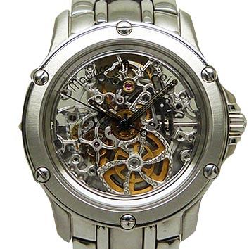 <title>モーリス ラクロア 自動巻 メンズ腕時計 モーリスラクロア メーカー公式 Maurice Lacroix 14782-6701 スケルトン オートマティック 中古</title>