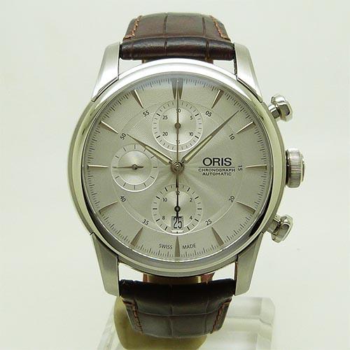オリス 【ORIS】 774 7686 4051D アートリエ クロノグラフ 44mm【新品】