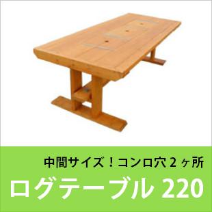 ログテーブル220