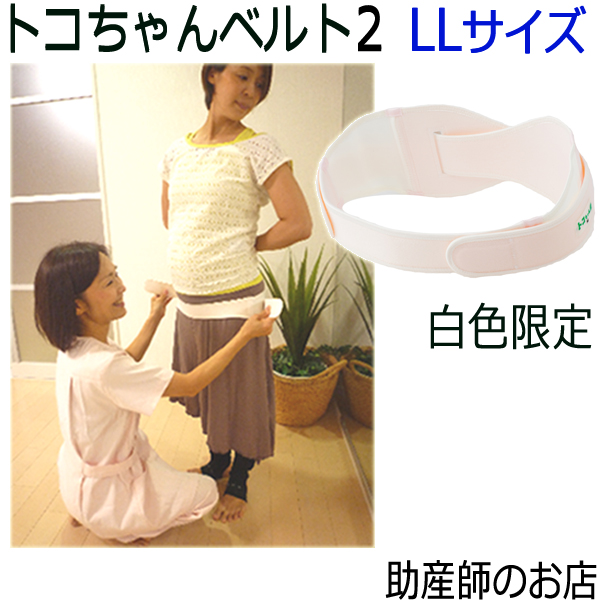 () pelvis belt / Saturday shipment (とこちゃん belt 2_l ll) (green leaves regular article) diet, low back pain belt / nursing bra / lower part of the body Father's Day gift with 5 times P Toko belt 2(LL size), rooibos tea premium