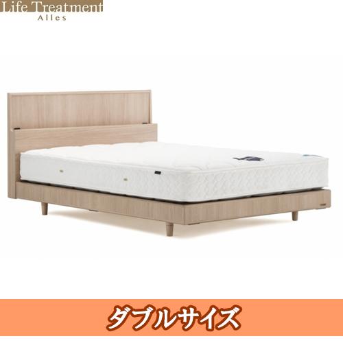 【フランスベッド】 一般ベッド ライフトリートメントアレス フレームのみ lt-rf1411c-d 木製,化粧板(レリーフ調型押し加工)