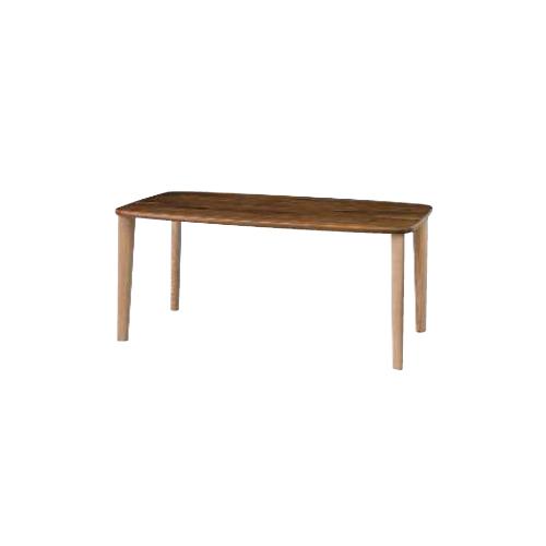 【イバタインテリア】 Sign(サイン) テーブル W1600 dt-k53158 ナラ&ウォールナット材