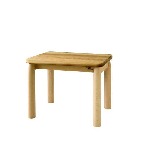 【飛騨産業】HIDAキッズテーブル(W50) Cerreto Kid's Table 圧縮杉 ブナ NY2色 EM385WP