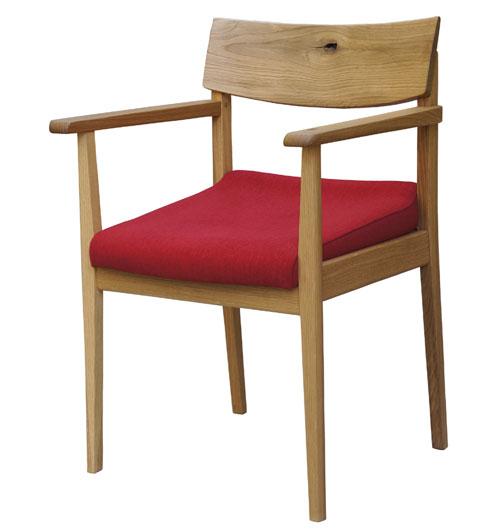 【飛騨産業】腰にやさしい椅子 骨盤サポートノーマルタイプ(節あり・ハイタイプ) ナラ材