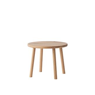 【飛騨産業】 風のうた サイドテーブル fx120t 国産ナラ(節入り)