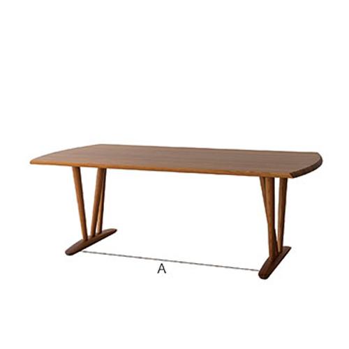 【飛騨産業】 KISARAGI LDテーブル kj365wp 杉圧縮柾目材