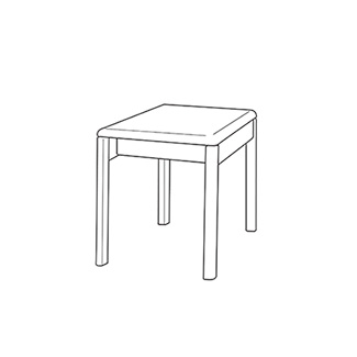飛騨産業 Lin-Sofa サイドテーブル cl11stb