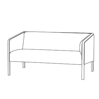 飛騨産業 Lin-Sofa ソファ2P cl11wb