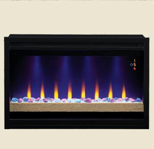 【LLOYD GRANDE】 built-in 36インチビルトイン電気式暖炉本体ファイヤーアート fireart-36inch