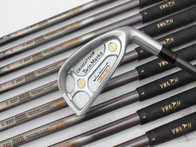 Ten USED used goods[5711]Honma twin marks cross attack / Doris titanium M50 /R/0