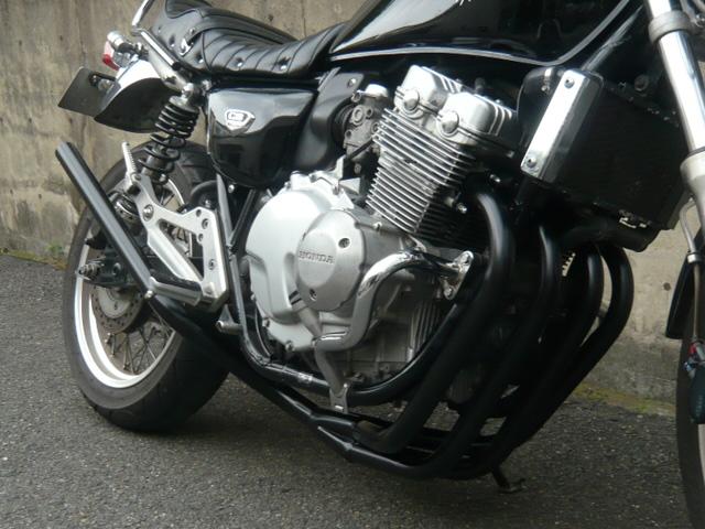 Pretty Racing プリティーレーシング マフラー バイク用 ディスカウント CB400FOUR 50.8π 新品 ミドル管 限定タイムセール NC36 ブラック