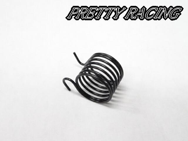 Pretty Racing プリティーレーシング マフラー バイク用 ホーク2 コールバネ ホーク3 黒バネ 割引 人気急上昇 兼用