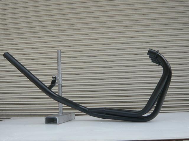 GPZ400F ミドル管 50.8π 新品 マフラー ブラック