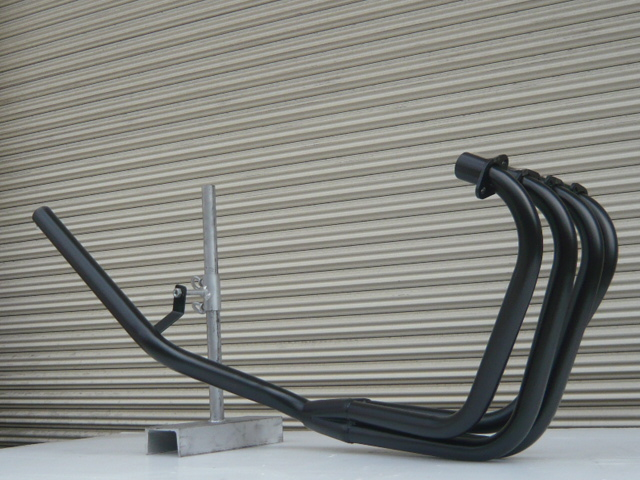 Z400FX E4 ミドル管 50.8π 新品 マフラー ブラック
