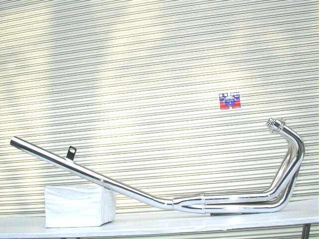 バンディット250 GJ74A ミドル管 50.8π 新品 マフラー メッキ