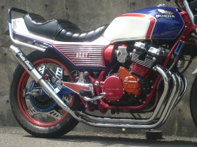 Pretty Racing プリティーレーシング マフラー バイク用 CBX400F 分割式 42.7π 550F 価格交渉OK送料無料 PRETTY管 購買 改