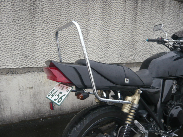 ZRX400/2 メッキロングタンデムバー