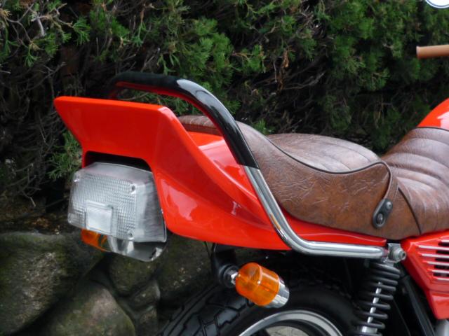 GSX400E ゴキ メッキ極太ゴム巻きタンデムバー