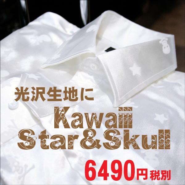 Star&Skull Dress Shirts 결혼식-주인-스탠드 칼라 셔츠, P25Jan15