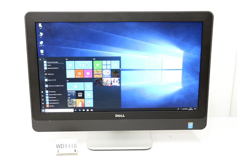 中古 液晶一体型 WPS Office付き Windows10 DELL OPTIPLEX 9020 Core i5 4570S 2.90GHz 4GB 500GB DVD-ROM HDMI 3ヶ月保証【あす楽】【中古】【消費税込】【送料・代引手数料無料】