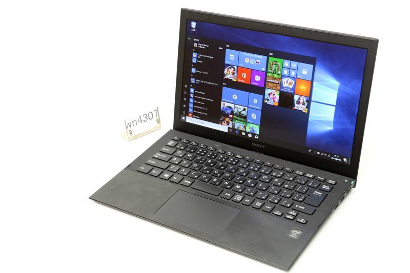 中古 ノートパソコン Windows10 SONY VAIO Pro 13 SVP1321A2J Core i7 4500U 1.80GHz 8GB SSD 128GB Bluetooth カメラ HDMI 3ヶ月保証【あす楽】【中古】【消費税込】【送料・代引手数料無料】