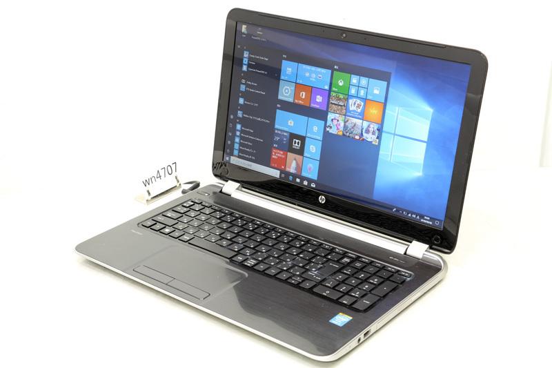 中古 ノートパソコン Windows10 HP Pavilion 15-N210TU Core i5 4200U 1.60GHz 4GB 500GB DVDスーパーマルチ Bluetooth カメラ HDMI 3ヶ月保証【あす楽】【中古】【消費税込】【送料・代引手数料無料】