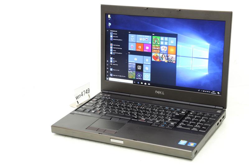 中古 ノートパソコン Windows10 DELL PRECISION M4800 Core i7 4710MQ 2.50GHz 8GB SSD 256GB DVDスーパーマルチ Bluetooth HDMI 3ヶ月保証【あす楽】【中古】【消費税込】【送料・代引手数料無料】