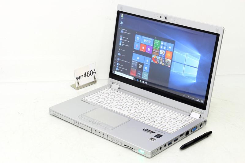 中古 レッツノート Windows10 Panasonic Let's note MX4 CF-MX4EDCTS Core i5 5300U 2.30GHz 4GB SSD 128GB DVDスーパーマルチ Bluetooth タッチパネル 3ヶ月保証【あす楽】【中古】【消費税込】【送料・代引手数料無料】