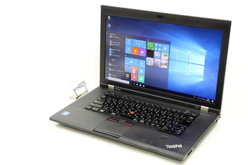 中古 ノートパソコン Windows10 Lenovo ThinkPad L530(2481-2T0) Core i5 3320M 2.60GHz 4GB 320GB DVDスーパーマルチ Bluetooth 3ヶ月保証【あす楽】【中古】【消費税込】【送料・代引手数料無料】