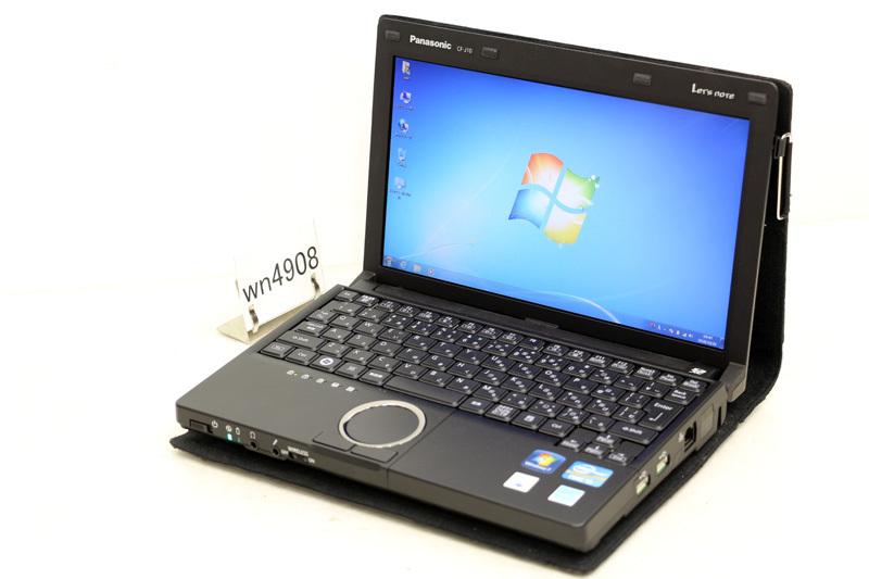中古 レッツノート Windows7 Panasonic Let's note J10 CF-J10UYNHR Core i5 2410M 2.00GHz 4GB SSD 128GB WiMAX HDMI 3ヶ月保証【あす楽】【中古】【消費税込】【送料・代引手数料無料】
