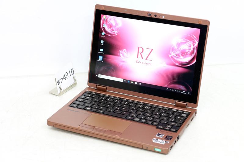中古 レッツノート Windows10 Panasonic Let's note RZ4 CF-RZ4JDEJR Core M 5Y31 0.90MHz 4GB SSD 128GB Bluetooth タッチパネル カメラ HDMI 3ヶ月保証【あす楽】【中古】【消費税込】【送料・代引手数料無料】