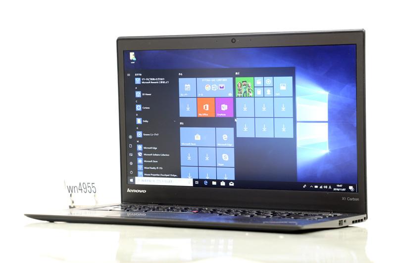 中古 ノートパソコン Windows10 Lenovo ThinkPad X1 Carbon(20A8-S0WE01) Core i7 4600U 2.10GHz 8GB SSD 256GB Bluetooth カメラ HDMI ウルトラブック 3ヶ月保証【あす楽】【中古】【消費税込】【送料・代引手数料無料】
